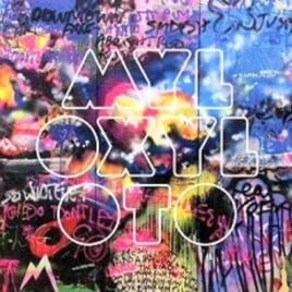 "Coldplay's ""Mylo Xyloto"" CD"