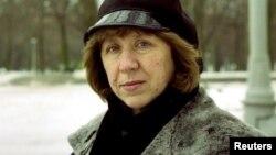 白俄罗斯记者斯维特拉娜·阿列克谢耶维奇