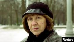 Svetlana Alexievich, prix Nobel de littérature 2015