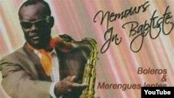 """Nemours Jean-Baptiste, kreyatè mizik popilè ayisyèn nan, Konpa Dirèk (""""Le Compas Direct"""")."""