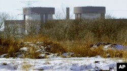 FILE - A view of Exelon Generation's Braidwood Nuclear Generating Station in Braceville, Ill., Dec. 14, 2010.