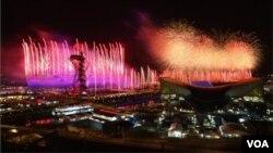 London Olimpiadasının aşılış mərasimi