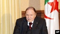 Le président algérien Abdelaziz Bouteflika, 15 juin 2015.