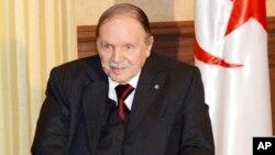 Abdelaziz Bouteflika, Presidente argelino