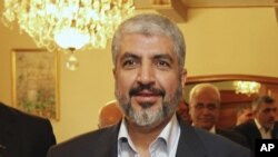 Khaled Meshaal, pemimpin tertinggi organisasi Hamas Palestina yang tengah berada di pengasingan, menyatakan tidak akan mencalonkan diri dalam pemilihan pemimpin baru bagi organisasinya (Foto: dok).