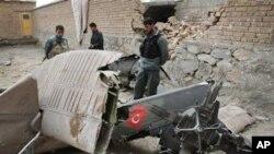 Mart ayında Kabil'de düşen Türk helikopteri