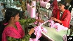 방글라데시 여성 노동자들