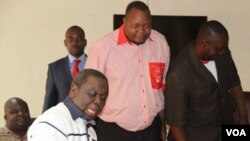 MDC99 leader Job Sikhala rejoined Morgan Tsvangirai's MDC on Wednesday saying time has come for the opposition to work as a united front to fight Zanu PF.