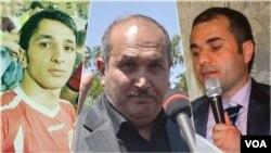Kazım Səfabəxş, Abbas Lisani, Siyamək Mirzayi