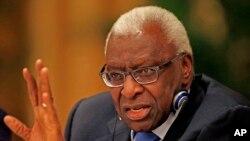 Un des fils de Lamine Diack, ancien président de l'IAAF est visé par une suspension