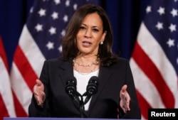 Democratic U.S. vice presidential nominee Kamala Harris