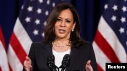 Kamala Harris, kandidatkinja demokrata za potpredsrednicu Sjedinjenih Država (Foto: REUTERS/Jonathan Ernst)