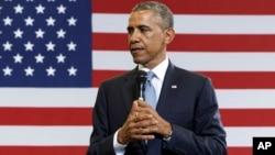 """El presidente Barack Obama ha visto como su """"Obamacare"""" es cuestionada ahora también por las cortes."""