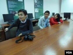 托木斯克理工大学的越南留学生。