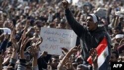 """Qohiraning """"Tahrir"""" maydoni, 4 fevral 2011"""