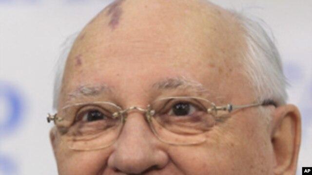 Former Soviet President Mikhail Gorbachev, February 21, 2011