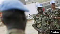 聯合國在蘇丹達爾富爾的維和部隊。