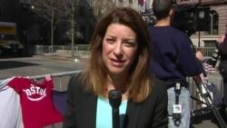 VOA's Carolyn Presutti reports on the scene in Boston