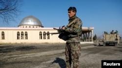 Căn cứ không quan Mỹ ở Bagram, Afghanistan. Ảnh chụp ngày 11/12/2019.