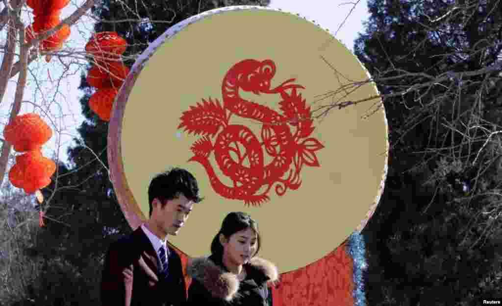 یہ تہوار چین میں روائتی جوش و خروش سے منایا جاتا ہے