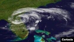 Satelitski snimak jedne od ovogodišnjih tropskih oluja