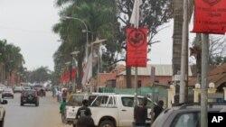 Aspecto da cidade do Uíge (VOA)