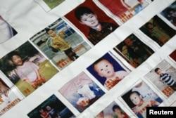 2009年东莞地区一些失踪儿童的照片