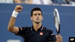 Petenis nomor satu dunia dari Serbia, Novak Djokovic.