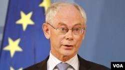 Presiden Uni Eropa Herman van Rompuy mengatakan Eropa telah kehilangan momentum dalam menangani krisis utang (foto: dok).