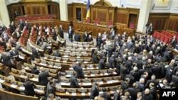 У залі Верховної ради України