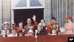 Queen Elizabeth II Prince Philip Princess Diana