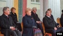 ლიტვის, გერმანიის და საქართველოს პრეზიდენტები ვილნიუსში