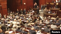 12月26日埃及议会上院开会