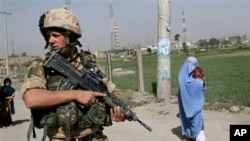NATO soldier in Afghanistan