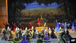 A scene from the 'Zayed and the Dream' performance