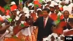 中國國家主席習近平對非洲訪問受歡迎