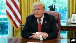 Presiden AS Donald Trump tetap menuntut anggaran bagi pembangunan tembok di perbatasan AS-Meksiko.