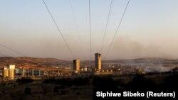 Une mine de l'entreprise Anglo American en Afrique du Sud, le 20 juillet 2015. REUTERS/Siphiwe Sibeko