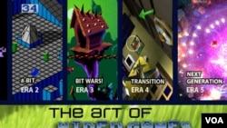 La exhibición cubrirá la historia de los videojuegos a lo largo de 40 años en 5 generaciones.