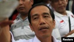 FILE - Jakarta governor and presidential candidate Joko 'Jokowi' Widodo.