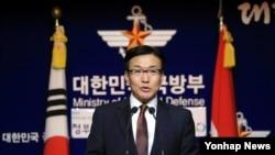 문상균 한국 국방부 대변인 (자료사진)