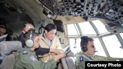 台湾总统马英九视察太平岛