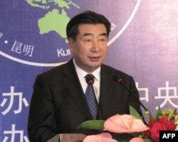 国务院副总理回良玉做主旨发言
