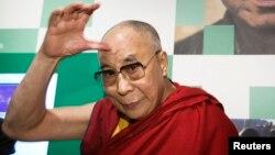 Le dalaï lama, 9 mai 2014.