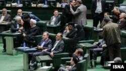 جلسه رای اعتماد فخرالدین احمدی دانش آشتیانی، چهارمین وزیر پیشنهادی رئیس جمهوری اسلامی برای وزارت علوم، تحقیقات و فناوری