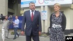 Владимир Колокольцев и Светлана Миронюк