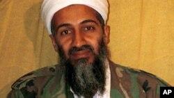 Shugaban al-Qaida Osama bin Laden da Amurka ta ga bayansa