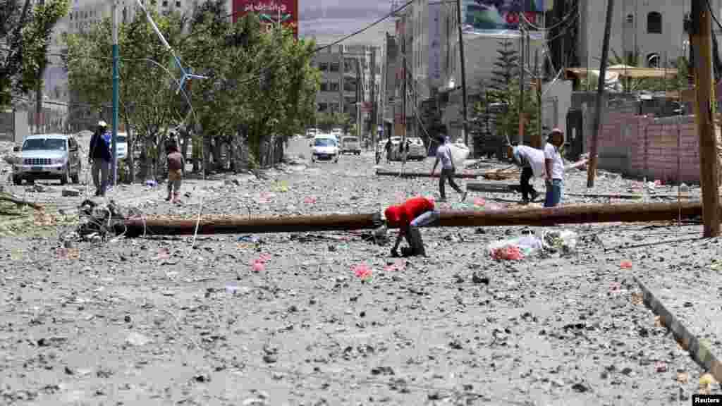 Sana'a, Yemen, Afrilu 21, 2015.