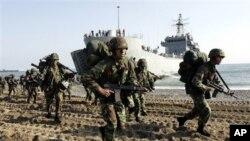 جنوبی کوریا کی فوجی مشقیں