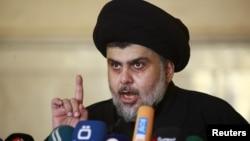 Muqtada al-Sadr, ulama Syiah Irak berpengaruh (foto: dok).